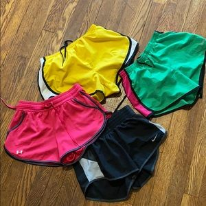 Nike under armor sport shorts